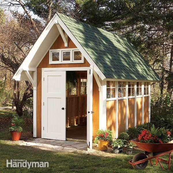 the family handyman backyard shed