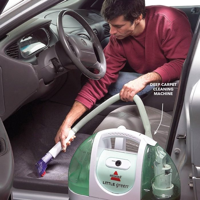 Best Way to Clean a Car: Deep-Clean Carpet and Upholstery