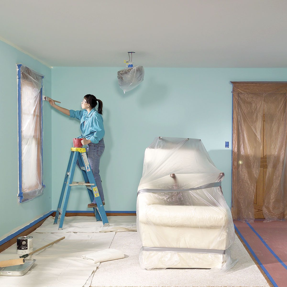 Clear the Entire Room Before Painting