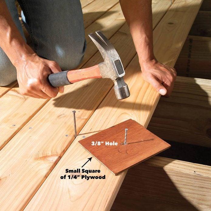 avoid hammer marks