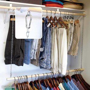 add on closet rod organization storage