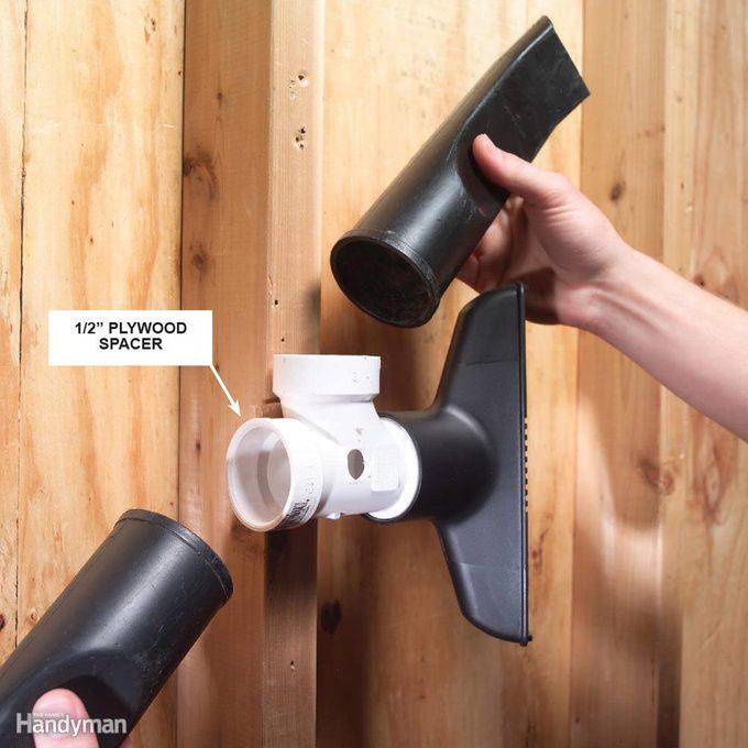 Vacuum Attachment Holder