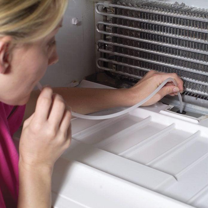 fixing refrigerator