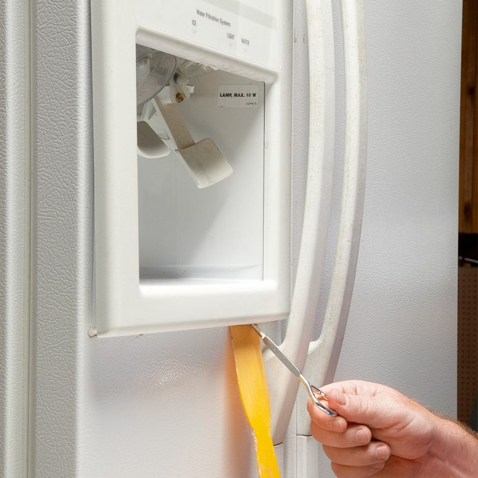 fix water and ice dispenser