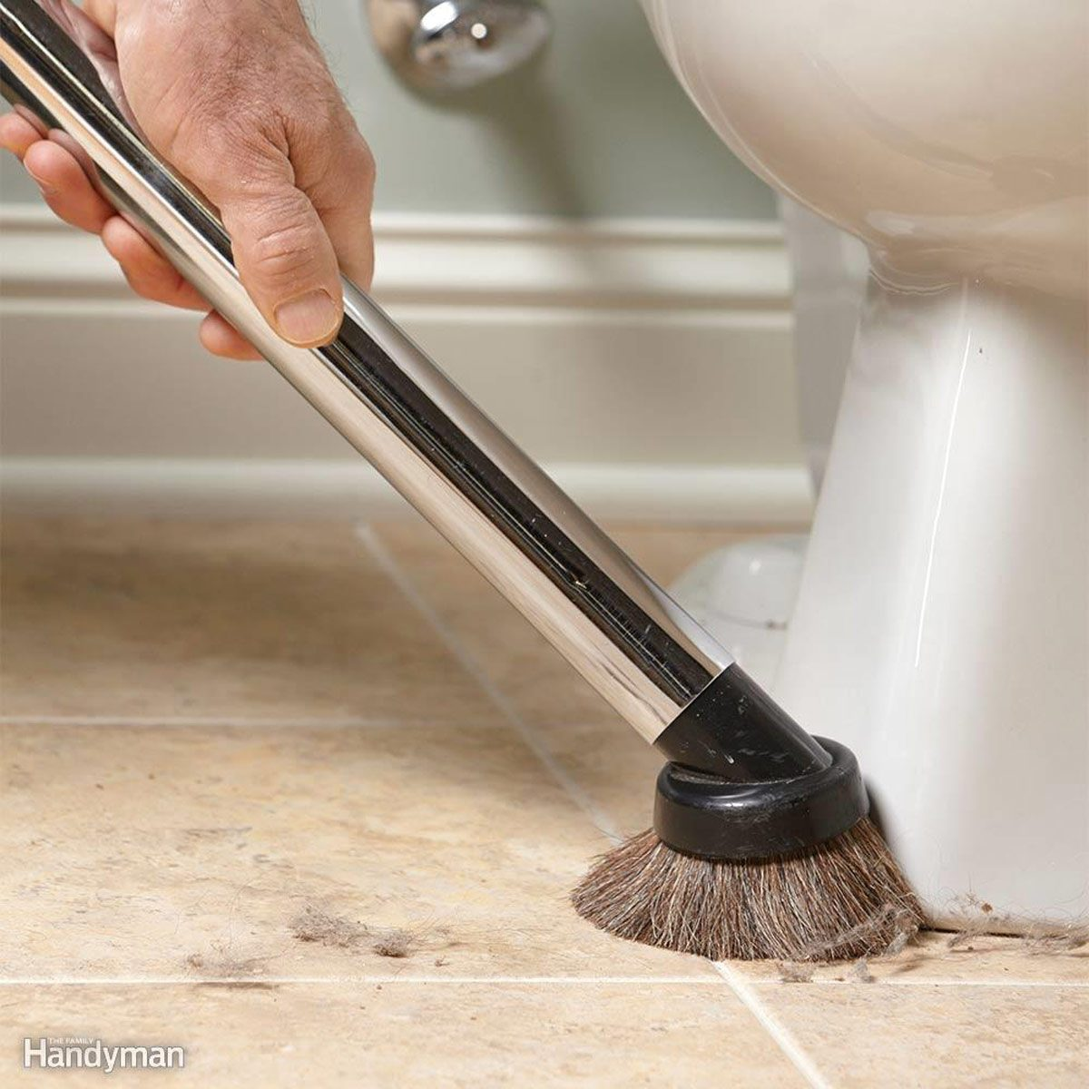 How To Clean A Bathroom Faster And Better The Family Handyman - Fastest way to clean a bathroom