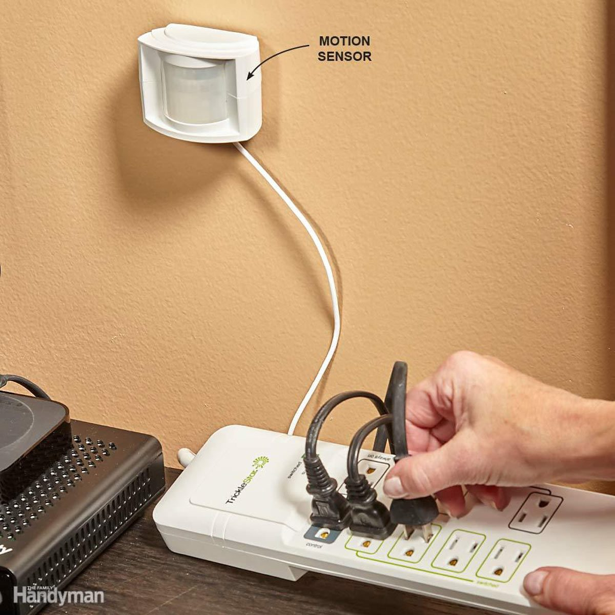 TrickleStar Motion-Sensor Power Strip Trims Your Electric Bill