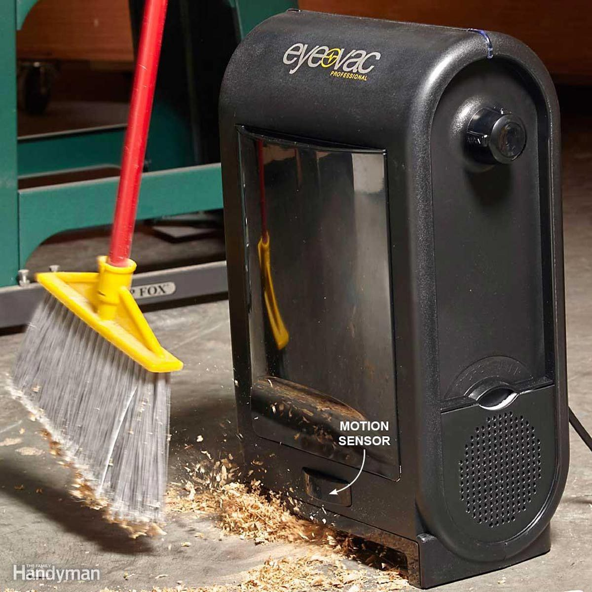 Vacuum Dustpan Saves Your Back