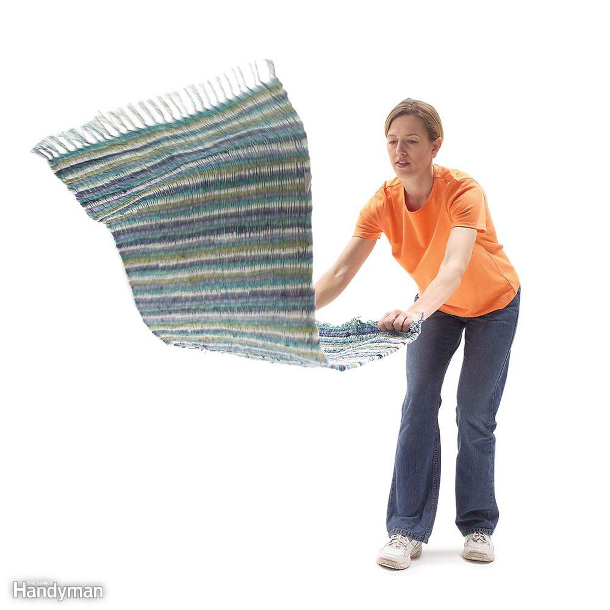 Cleaning Tips To Reduce Household Dust The Family Handyman Wire 3 Way Switch Beat And Shake Area Rugs