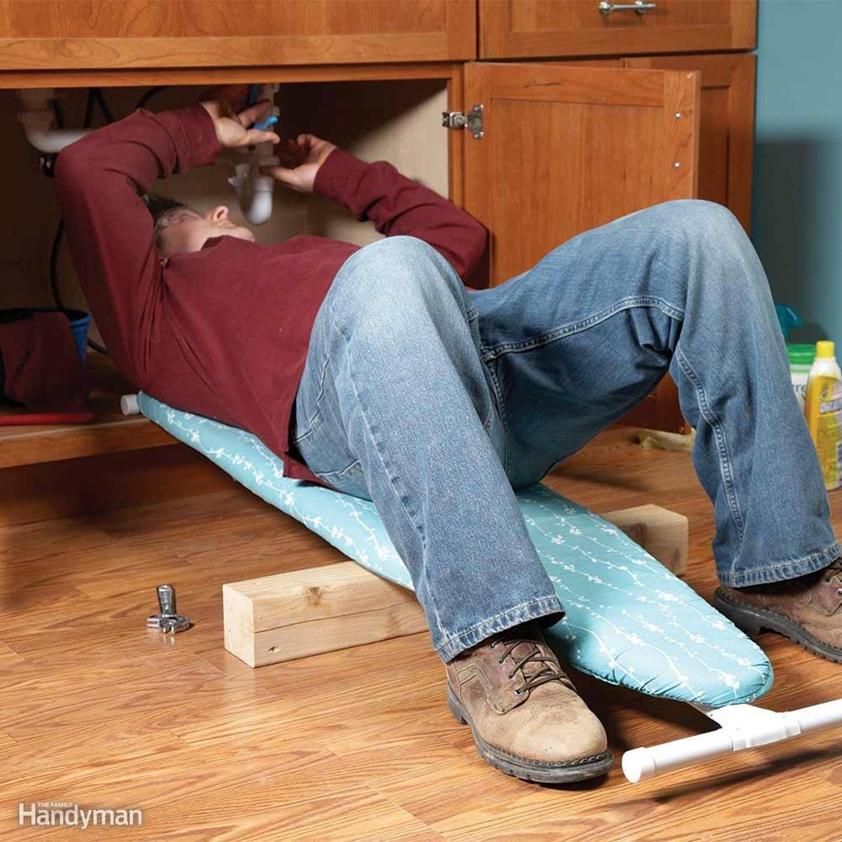 Ironing Board Back Saver