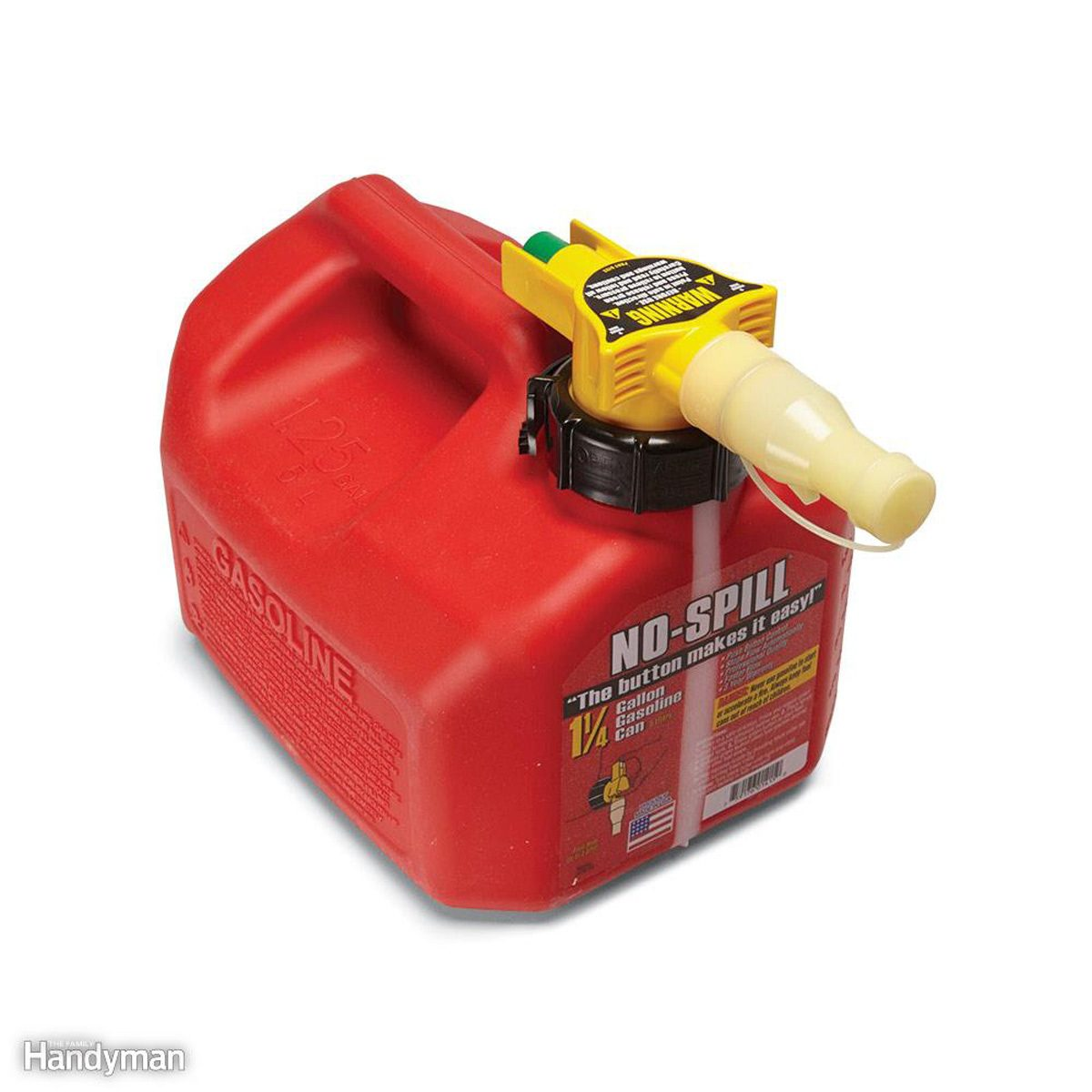 Gas Can That's Easy to Use