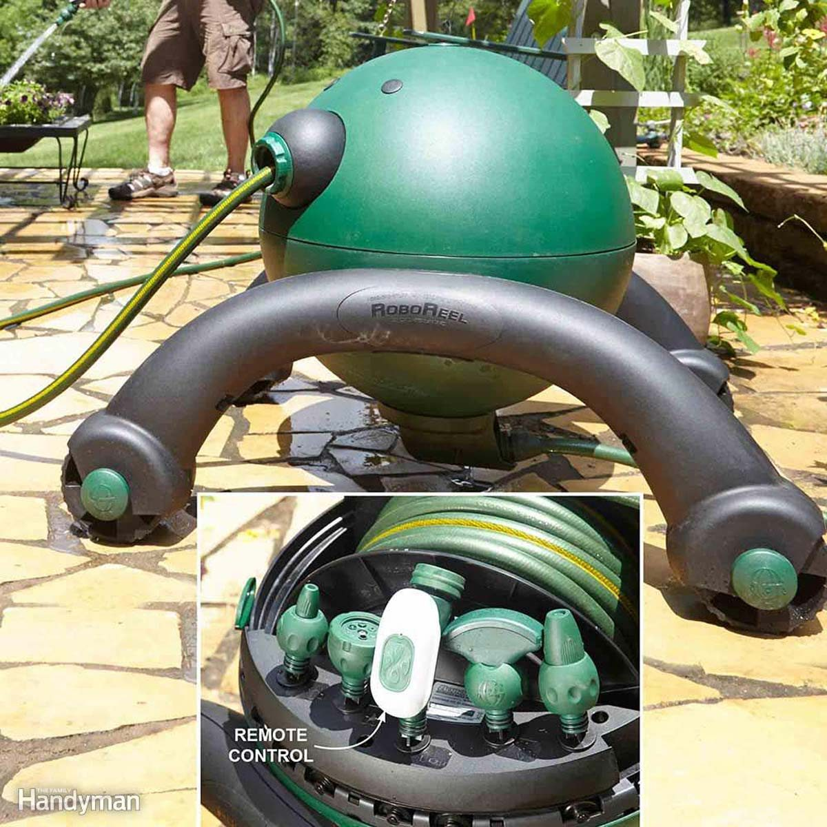 World's Coolest Hose Reel: RoboReel Water Hose Reel