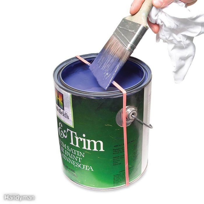 Paint Brush Drip Stopper