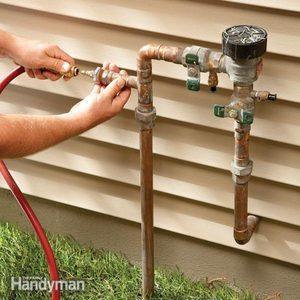 winterize a sprinkler system