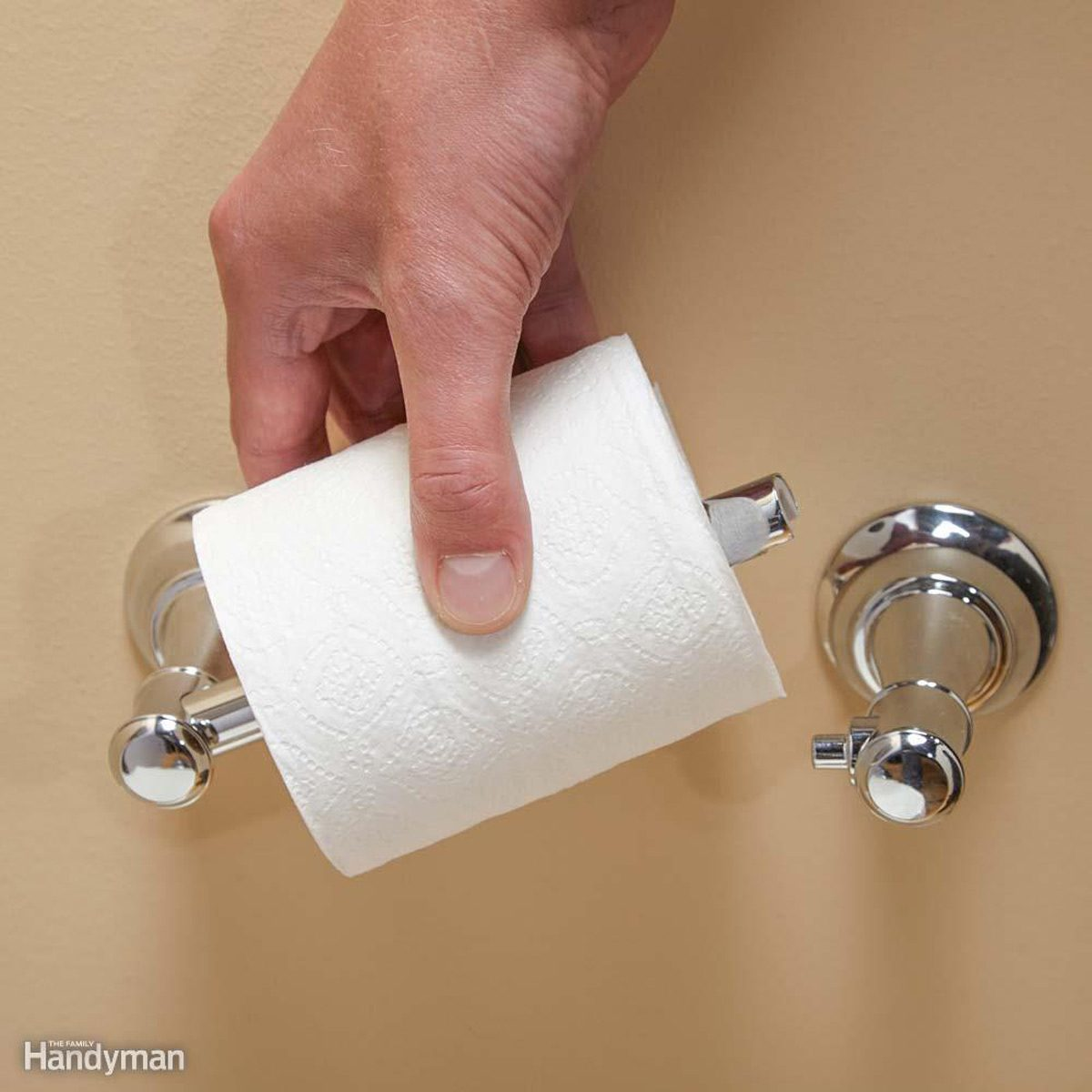 A Better Toilet Paper Holder