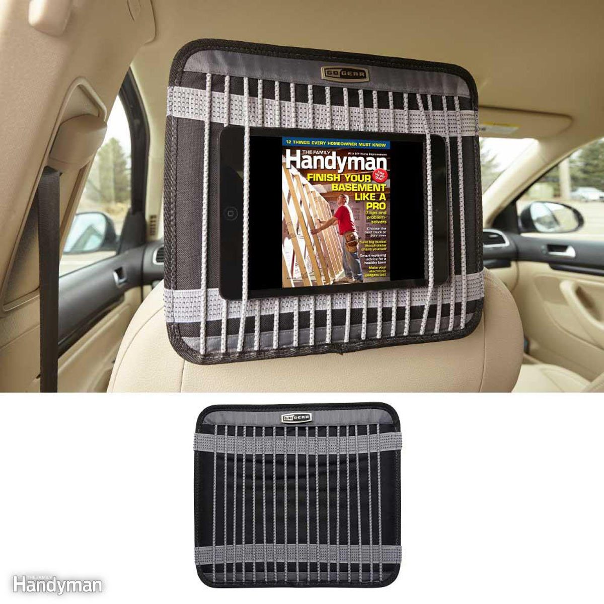 Hands-Free Tablets and Phones: GoGear Automotive Universal Tablet Holder