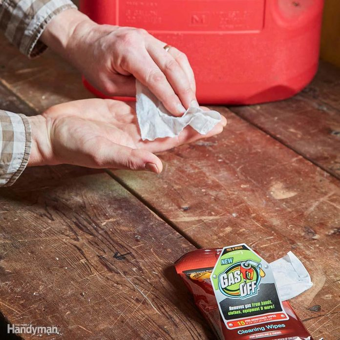 Gas Off Cleaning Wipes