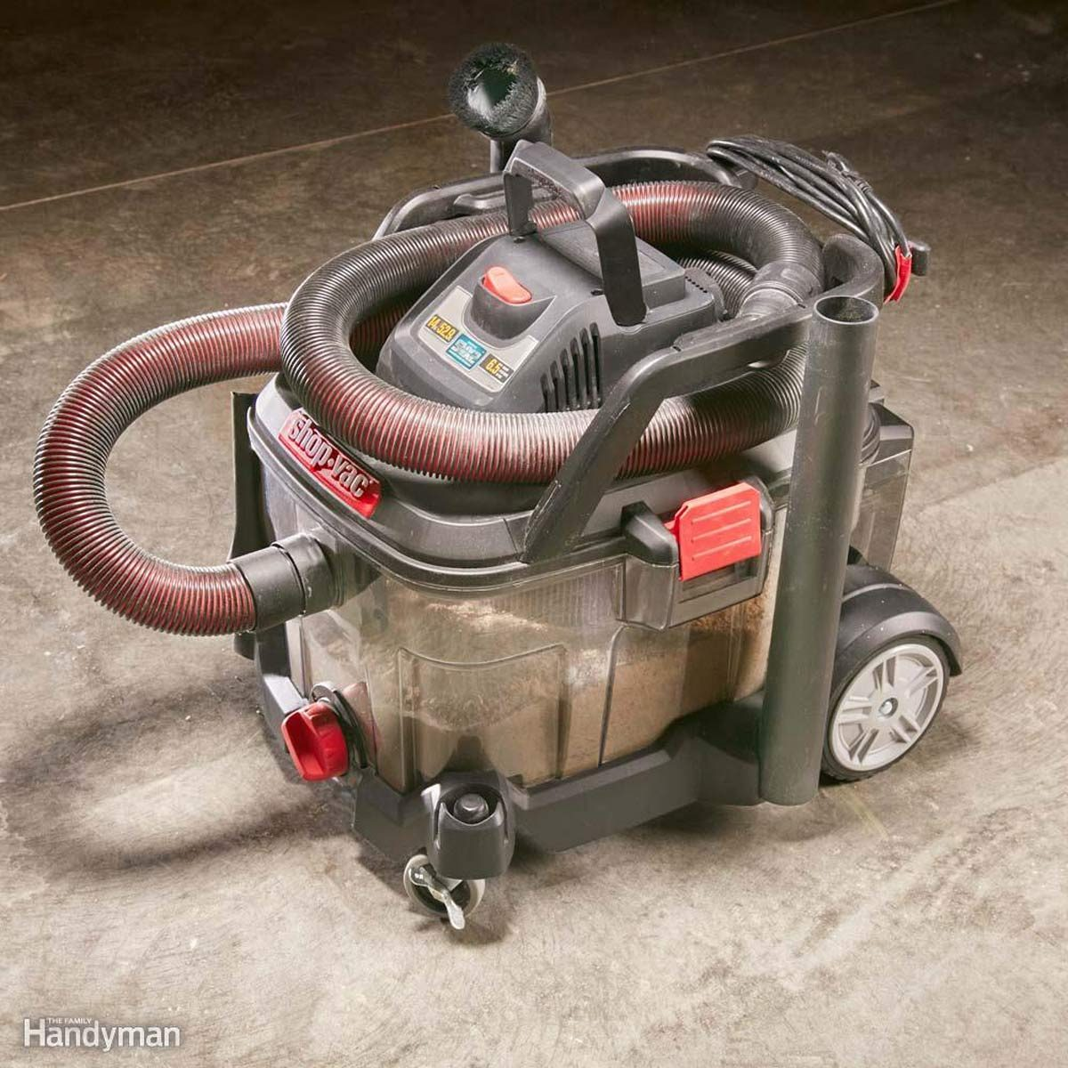 A Shop Vacuum with Features Galore