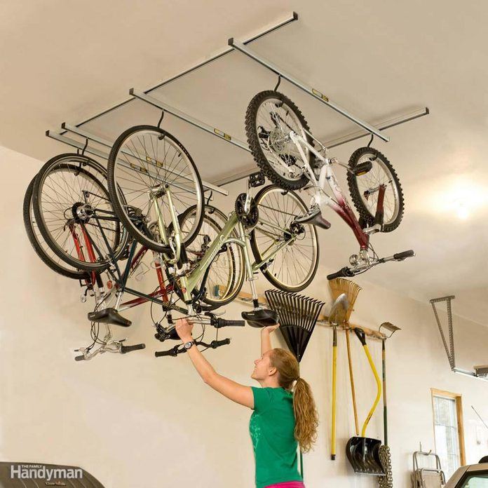 Efficient Bike Storage