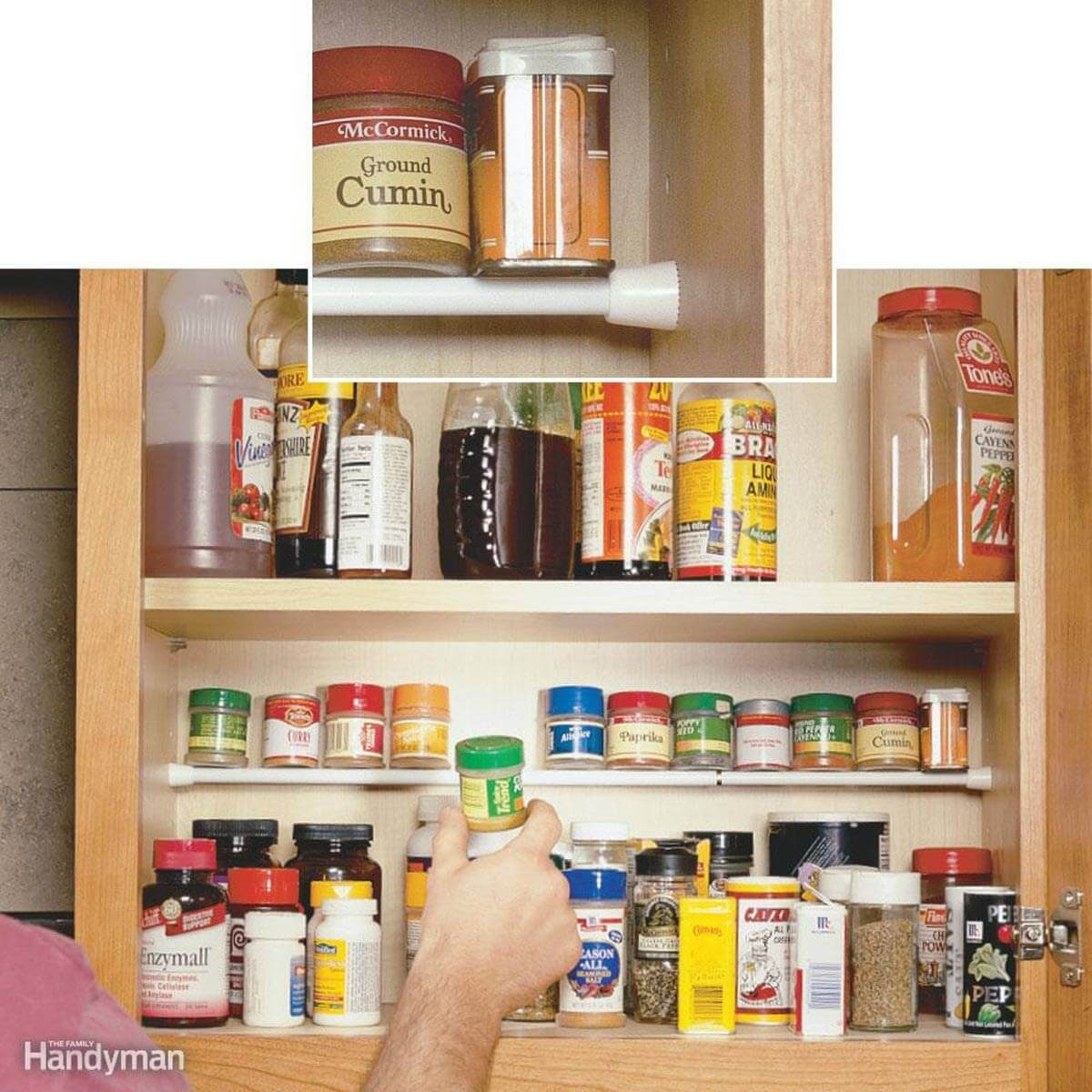 Clever kitchen cabinet pantry storage ideas family Kitchen cabinet organization systems