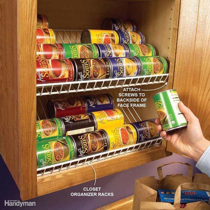 Racks for Canned Goods