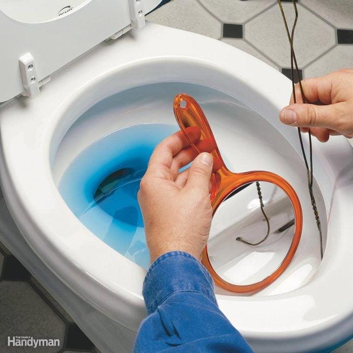 Clean a Sluggish Toilet