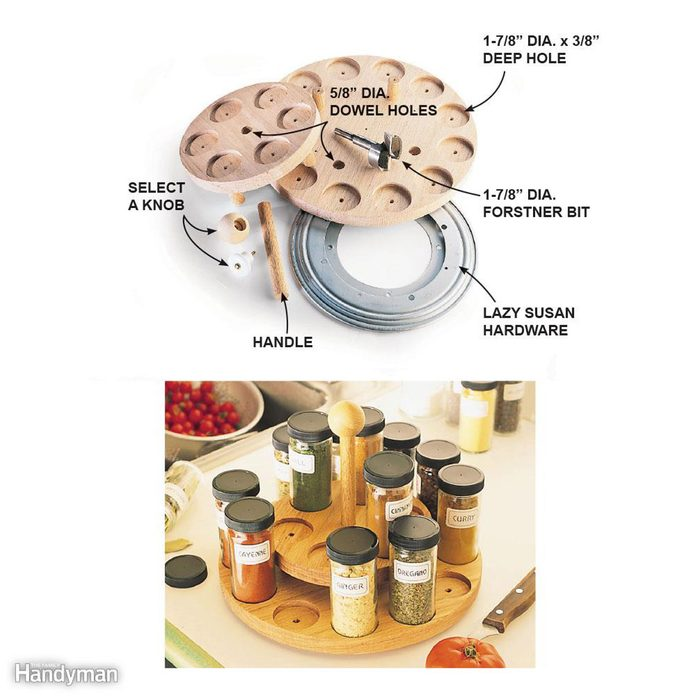 Help Organize the Break Room with a Spice Rack