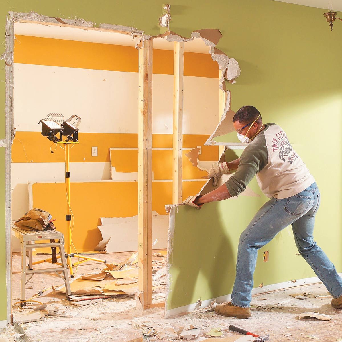 Knocking Down a Load-Bearing Wall