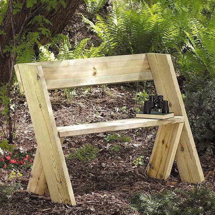 Build a cheap Wooden Bench
