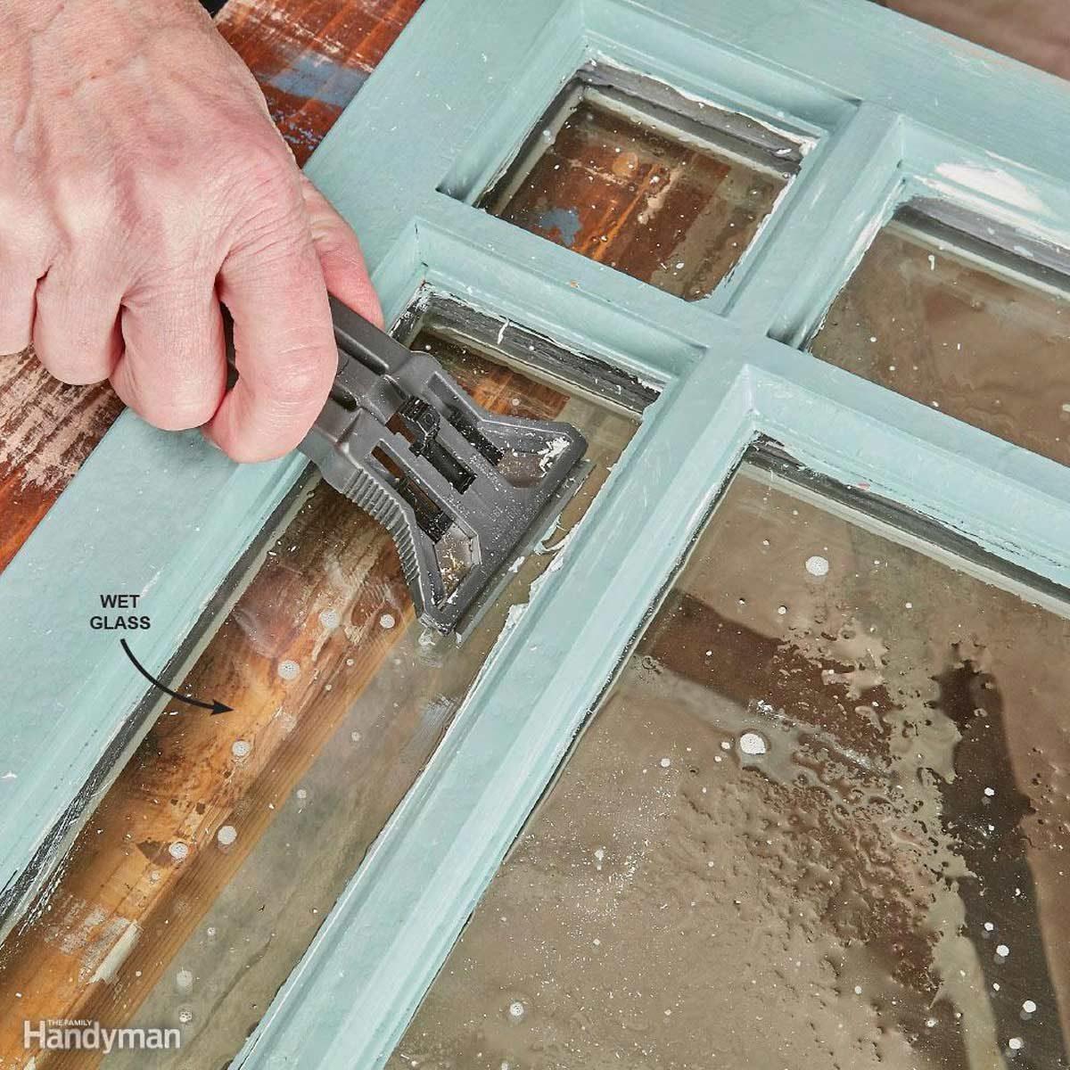 Repair and Reglaze