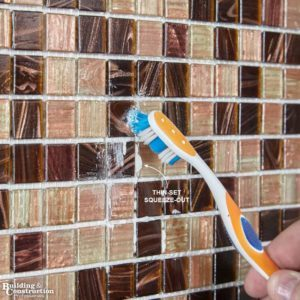 Install Mosaic Tile