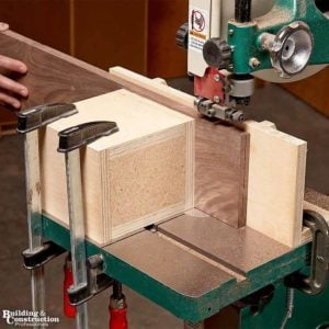 How to Re-saw Wood on a Bandsaw