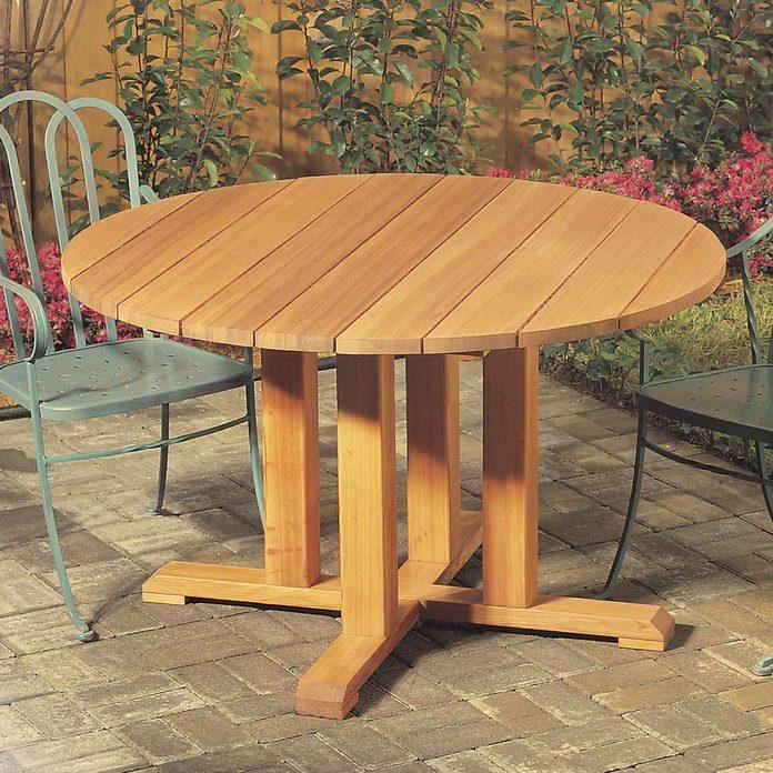Pedestal Picnic Table