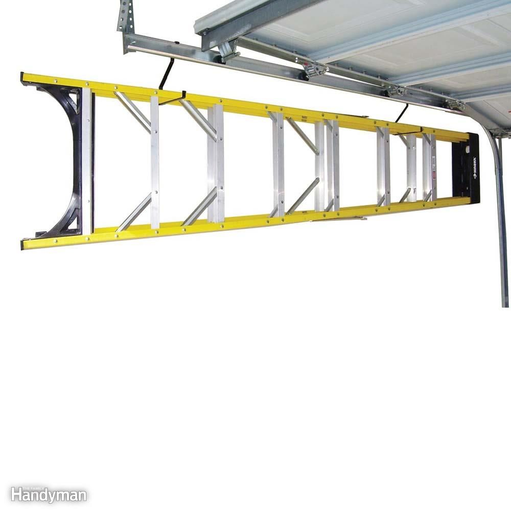 Add A Hook  sc 1 st  The Family Handyman & 14 Products to Maximize Your Garage Ceiling Storage | The Family ...