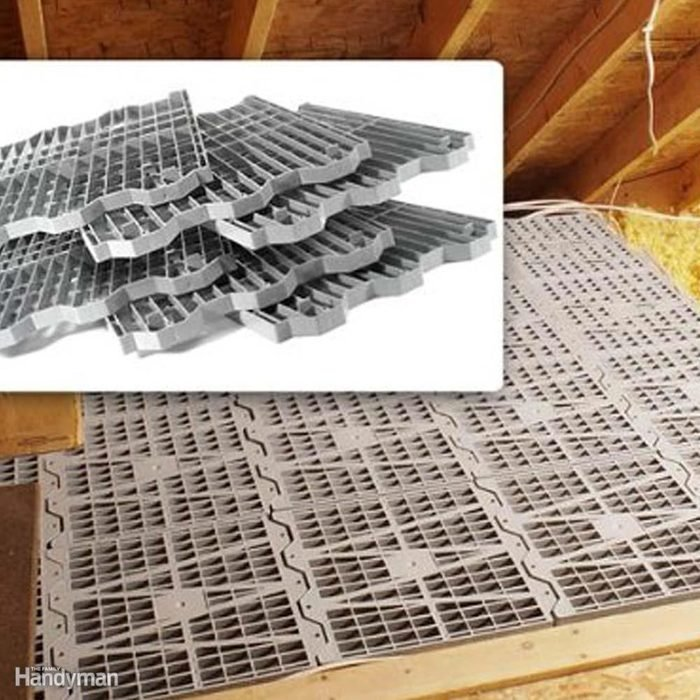 Try Attic-Decking Panels
