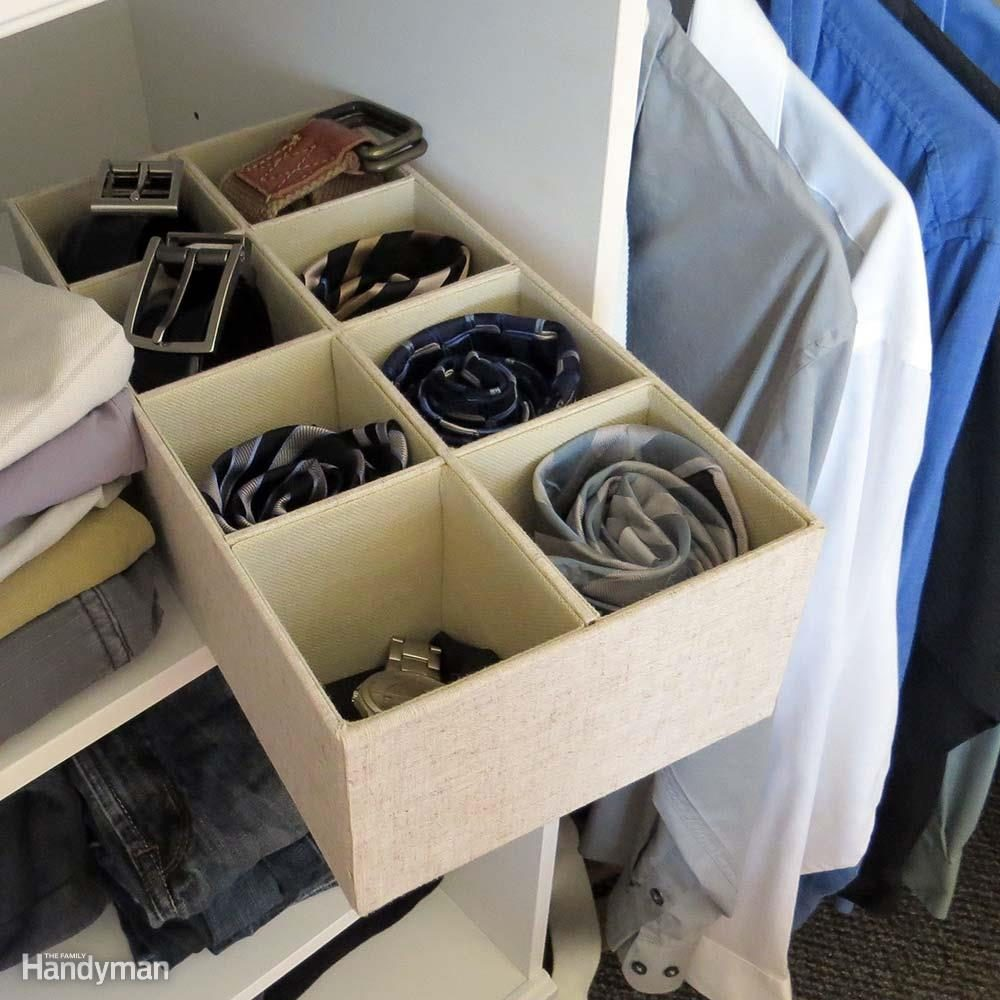 Closet Storage Ideas: Consider Fabric Bins