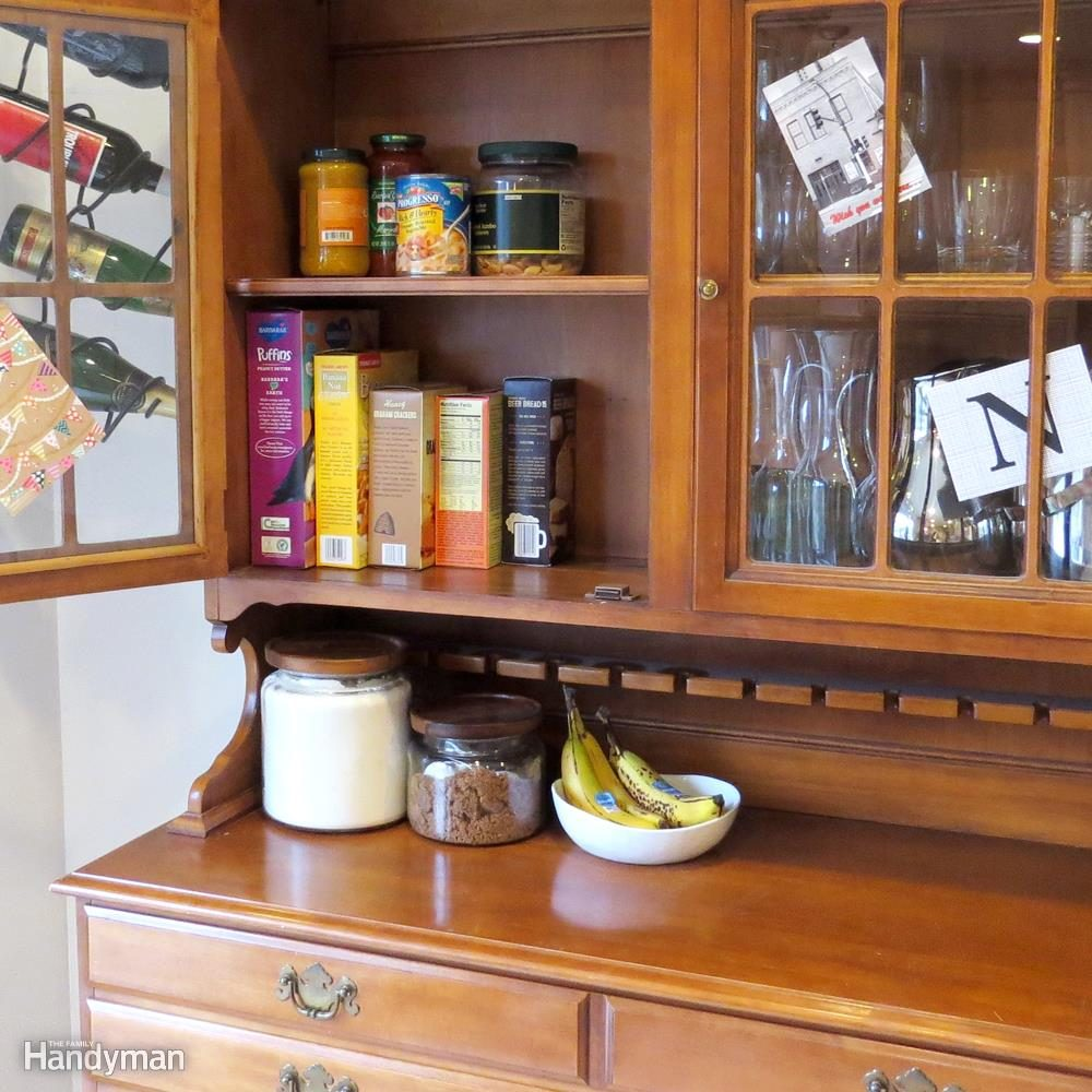 A Hutch for More Than Dinnerware
