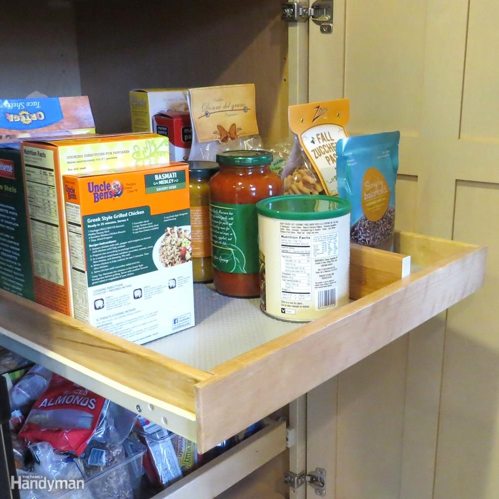 Pantry Ideas for Small Kitchen:; Maximize Cabinet Space with Pull-Outs