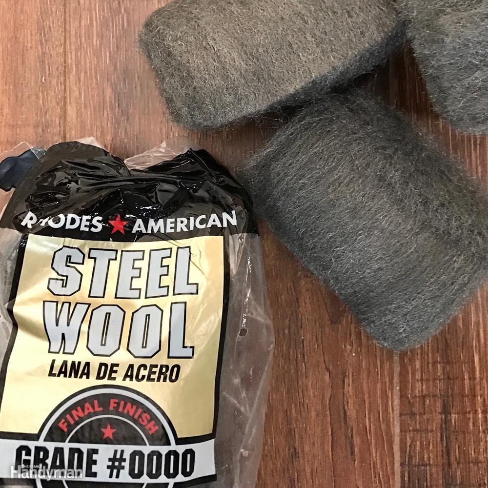 Steel wool for tough stains