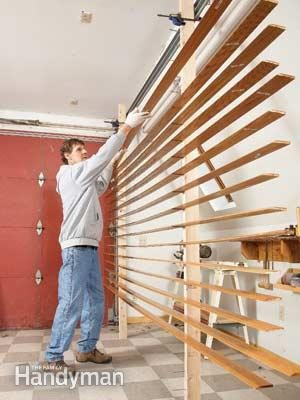Interior Painting: Paint Trim Faster with this Simple Paint Drying Rack