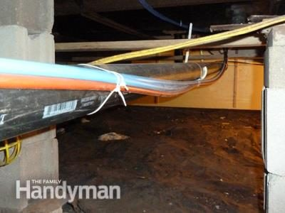 Running Pex Water Supply Lines The Family Handyman