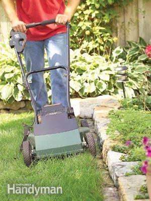 My Best Backyard Idea Ever: Eliminate Grass Trimming