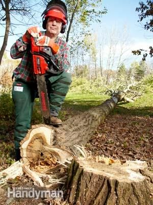 10 Tips For Using A Chain Saw