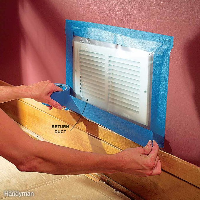 Cover Up Air Ducts