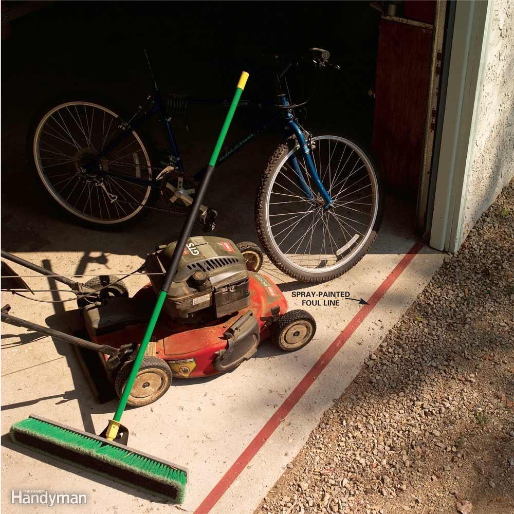 Garage Door Foul Line