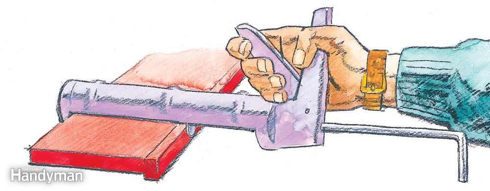 Clamping With a Caulk Gun