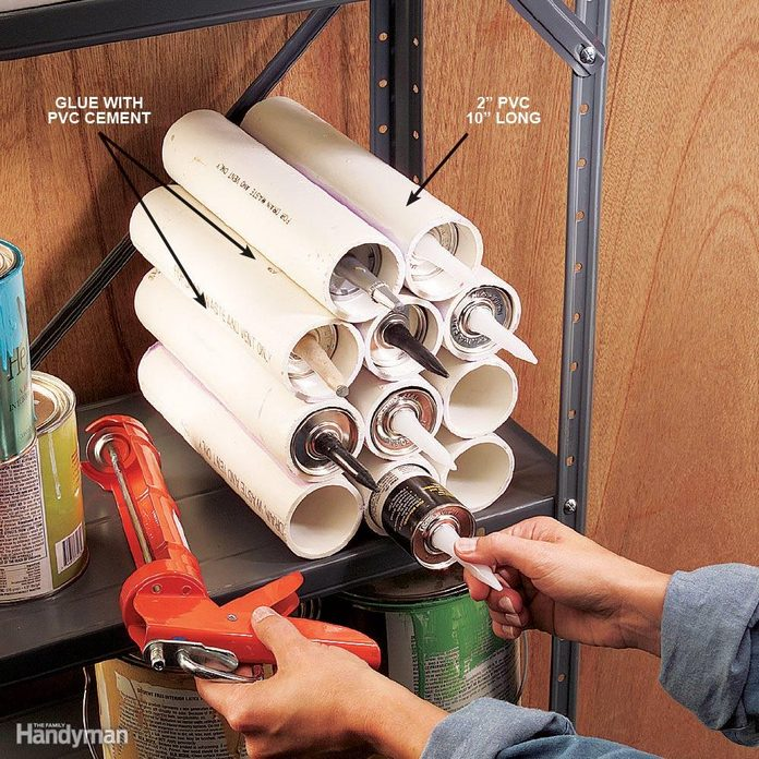 Caulk Tube Nest