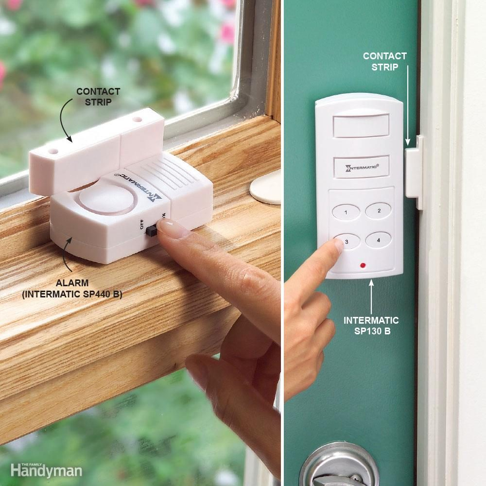 Add Inexpensive Door and Window Alarms