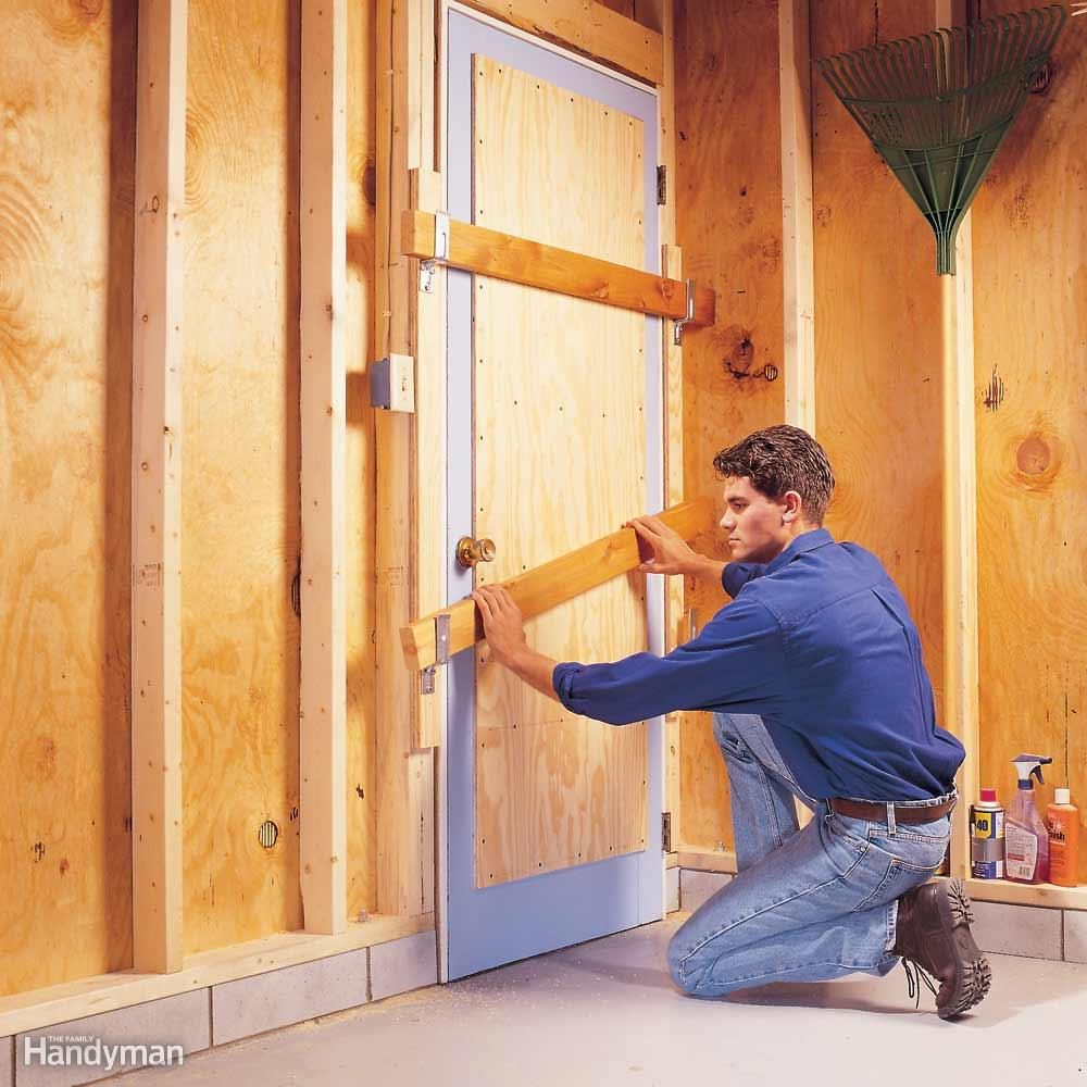 Beef Up Your Wooden Garage Entry Door
