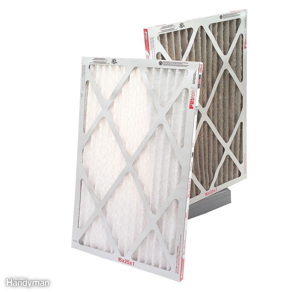 Replace the furnace filter.