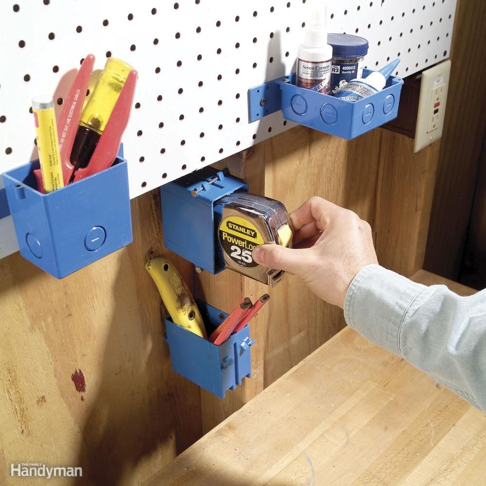 Electrical Box Toolholders
